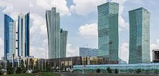 Ceremony of laying capsules of the World Trade Center held in Nur-Sultan