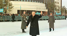 Kazakh people chose place of their capital and built it - Nazarbayev