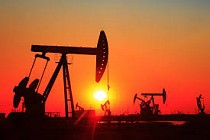 World oil prices down